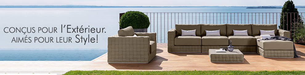 Meuble jardin design italien, meuble outdoor design | Dexhom.com