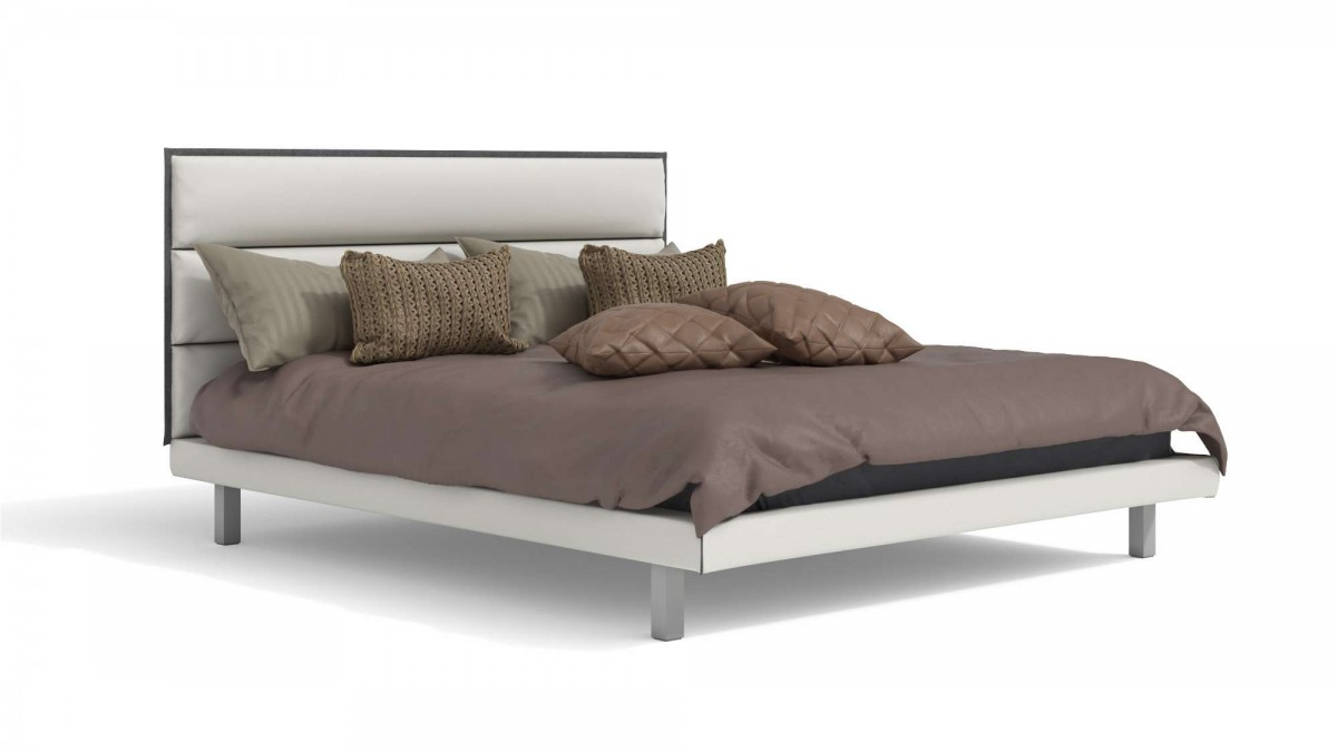 Bett CDI Collection King Bed White