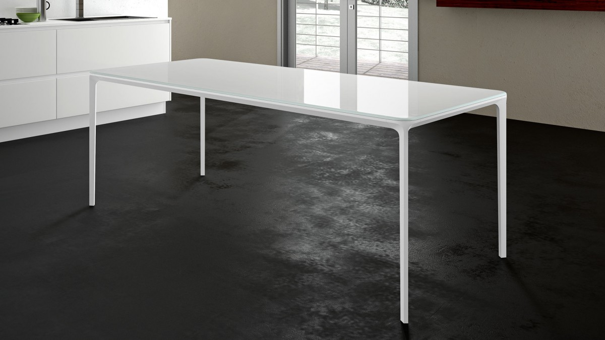 Table Sovet Slim Rectangular White