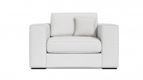 Fauteuil CDI Collection Babol Armchair Leather White
