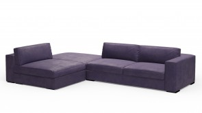 Canapé D'Angle CDI Collection Babol Corner Sofa Blue 1