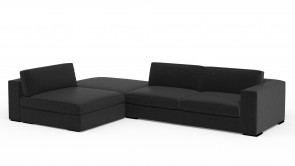 Canapé D'Angle CDI Collection Babol Corner Sofa Antracite 1