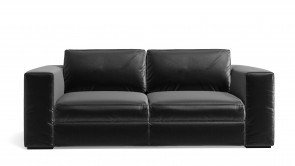 Canapé CDI Collection Babol Sofa Leather Black