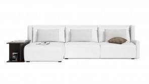 Canapé D'Angle CDI Collection Club Corner Sofa White