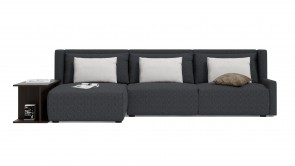 Canapé D'Angle CDI Collection Club Corner Sofa Grey
