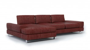 Canapé D' Angle CDI Collection Bloom Corner Sofa Red