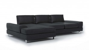 Canapé Modulaire CDI Collection Bloom Corner Sofa Black