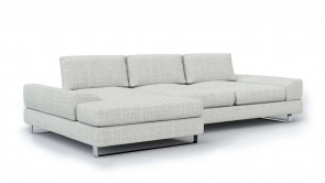 Canapé d'angle CDI Collection Bloom Corner Sofa White
