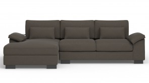 Convertible CDI Collection Dodo Corner Sofa Bed Grey