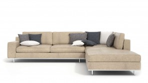 canapé modulaire cdi collection dos corner sofa beige
