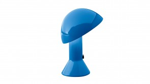 lampe de table martinelli luce elmetto blue