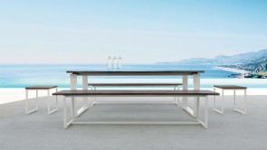 banquette cdi collection essence teak bench