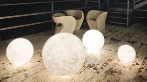 lampe d'exterieur ex moon 2 cdi collection