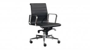 chaise de bureau cdi collection forma black dm131