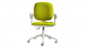 chaise de bureau cdi collection kappa green with armrests oa321