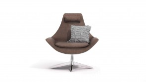fauteuil cdi collection line up armchair brown