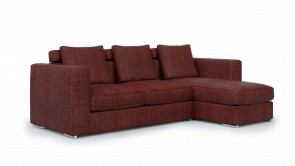 Canapé Modulaire CDI Collection Palermo Corner Sofa Red