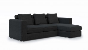 Canapé Modulaire CDI Collection Palermo Corner Sofa Dark Grey