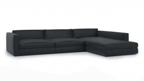 Canapé Modulaire CDI Collection Parma Corner Sofa Black