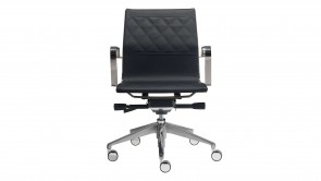 chaise de bureau cdi collection quadra black dm221
