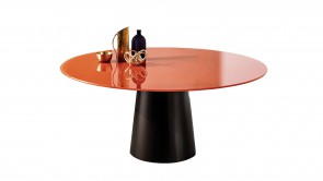 Table Sovet Totem Round Rust