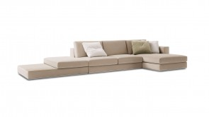 canapé modulaire cdi collection travel corner sofa beige