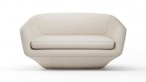 Canapé CDI Collection U Sofa White
