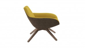 Fauteuil CDI Collection X Big Armchair 2050 Yellow