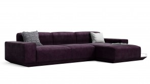 canapé modulaire cdi collection cube corner sofa purple 2