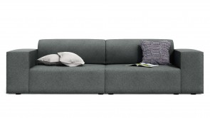 canapé cdi collection doughy sofa grey