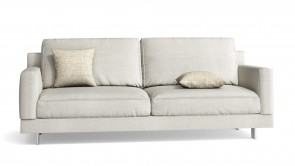 Canapé CDI Collection Elle Sofa White