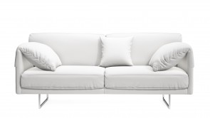Canapè CDI Collection Lennon Sofa Leather White