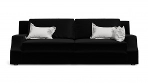 Sofa  CDI Collection Sign Sofa Leather Black