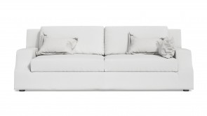 Canapé CDI Collection Sign Sofa Leather White