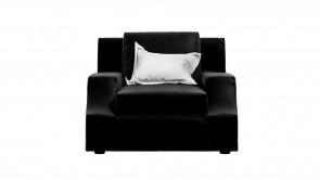 Fauteuil CDI Collection Sign Armachair Leather Black