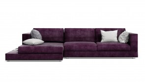 Canapé D'Angle CDI Collection Travel Corner Sofa Purple