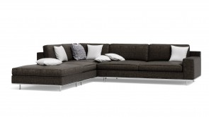 Canapé Modulaire CDI Collection Dos Corner Sofa Brown