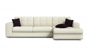 Canapé Modulaire CDI Collection Frame Corner Sofa Leather Chream