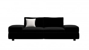 Canapé CDI Collection Smart Sofa Leather Black