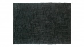 Tapis Dexhom Collection Cross Rug Black 1