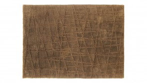 Tapis Dexhom Collection Cross Rug Brown 1