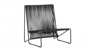 Fauteuil Rada Lounge Chair Black