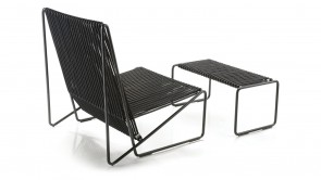 Fauteuil Rada Lounge Set Black