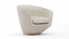 Fauteuil Dexhom Collection U Turn Cream