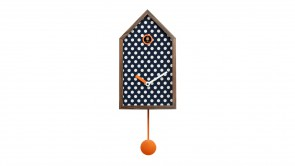 horloge progetti mr orange polka dots