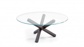 table sovet aikido round table wengè