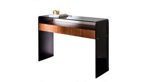 Console Sovet Bridge Hall With Drawer Black