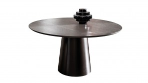 Table Sovet Totem Round Wengé