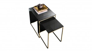 Table Basse Sovet Nido Coffee Table Burnished