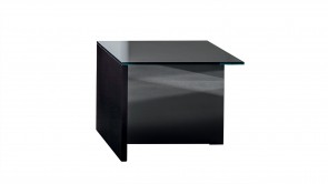 Table Basse Sovet Regolo Square Coffee Table Black 1